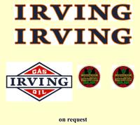 M23   MINNITOYS IRVING DECAL SET